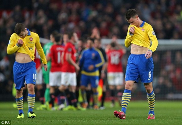 Another Painful Defeat At Old Trafford