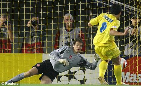 Jens Lehmann Penalty Save Versus Villarreal