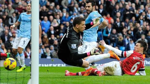 Arsenal Mistakes Contribute to City Goals