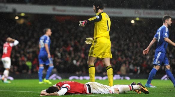 Giroud Missed Chances Against Chelsea
