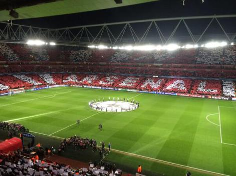 Arsenal Fans Created An Excellent Atmosphere