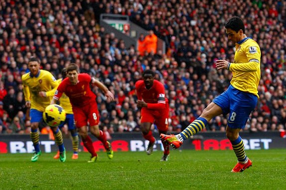 Arteta Scores Our Consolation From The Penalty Spot
