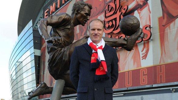 Dennis Bergkamp Statue Unveiled