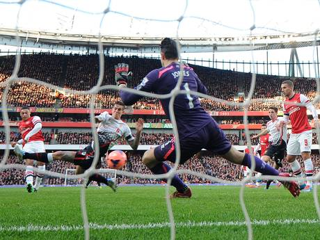Oxlade-Chamberlain Opens The Scoring Against Liverpool