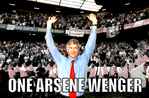 One Arsene Wenger