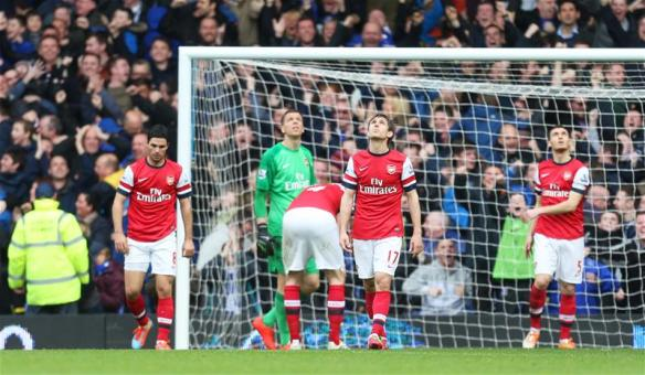 Arsenal Suffered At Goodison Park