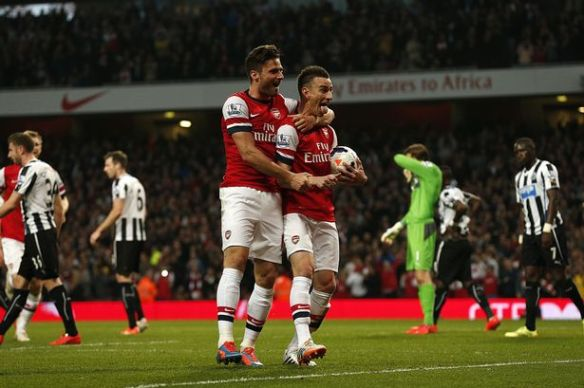 Koscielny Scores On St.Totteringham's Day For The Third Year Running
