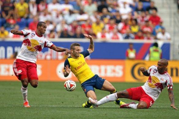 Henry versus Wilshere in NYC