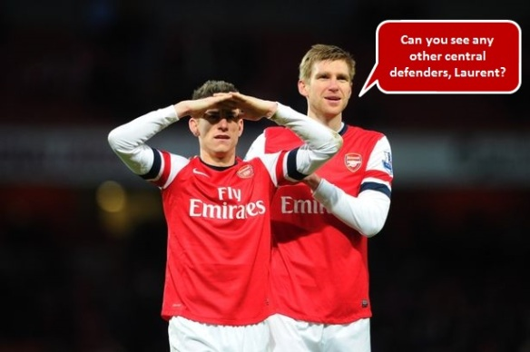 Koscielny and The BFG Looking For Support