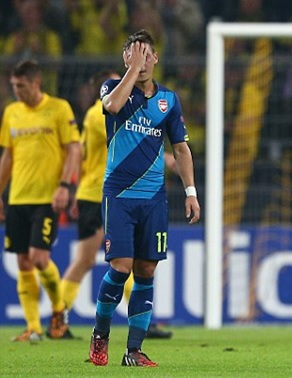 Out of form Mesut Ozil