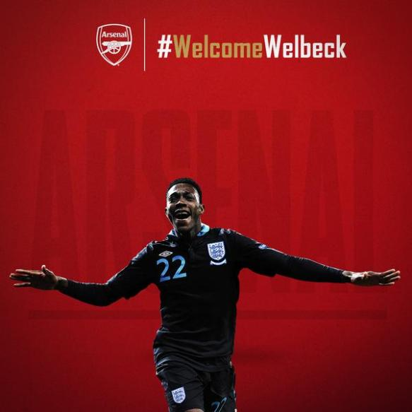 Welcome to The Arsenal Danny Welbeck
