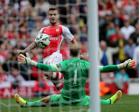 Wilshere scores our equaliser
