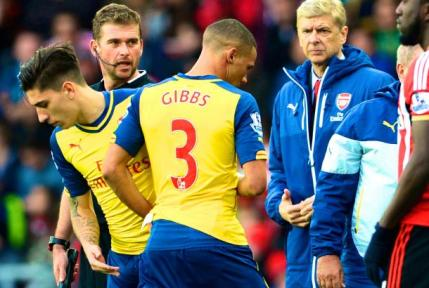 Gibbs Adds To The Injury List