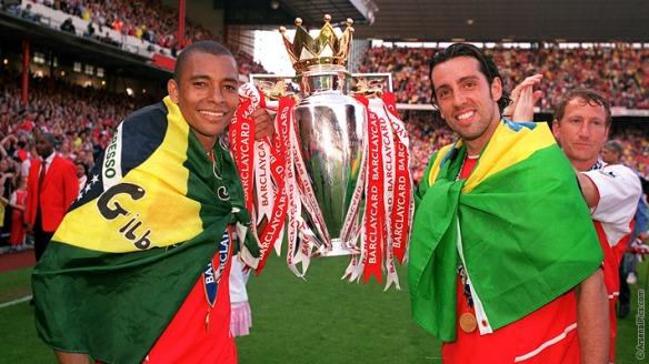 Gilberto, Edu, and Parlour - Real midfielders!