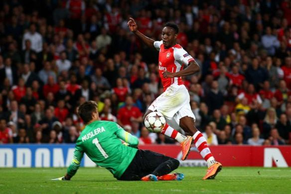 Welbeck completes his first senior hat-trick