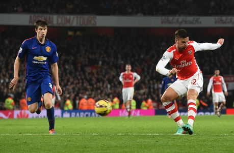 Giroud made a welcome scoring return from injury