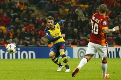 Ramsey lets fly against Galatasaray