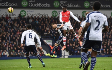 Welbeck heads home our winner against West Brom