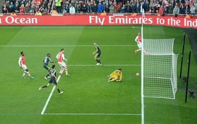 Giroud Opens The Scoring Against Middlesbrough