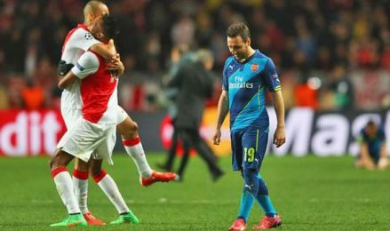 Another glorious European failure for The Arsenal