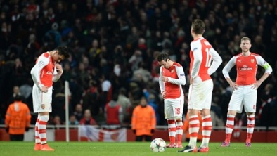 It was a night to forget against Monaco