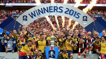 The Arsenal - FA Cup Winners 2015