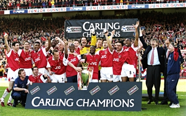 The Arsenal - League Champions 1997-98 - Places, Not Points