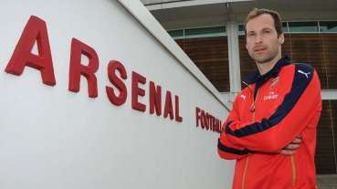 Welcome to Arsenal Football Club, Petr Cech